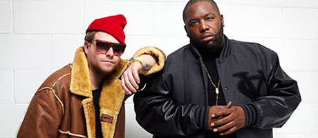 El-P and Killer Mike as Run The Jewels