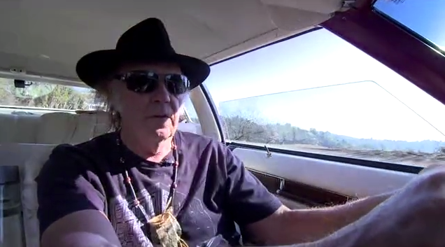 The road to the future of music gives Neil Young some FLAC...