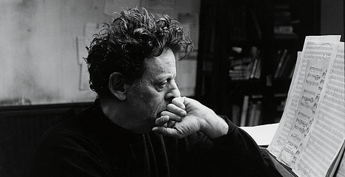 Philip Glass at work