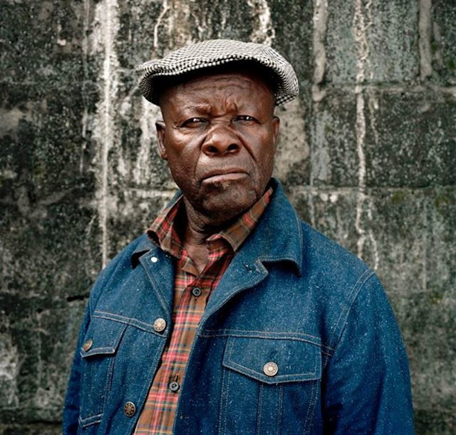 Konono No 1 founder Mingiedi Mawangu photographed by Pieter Hugo