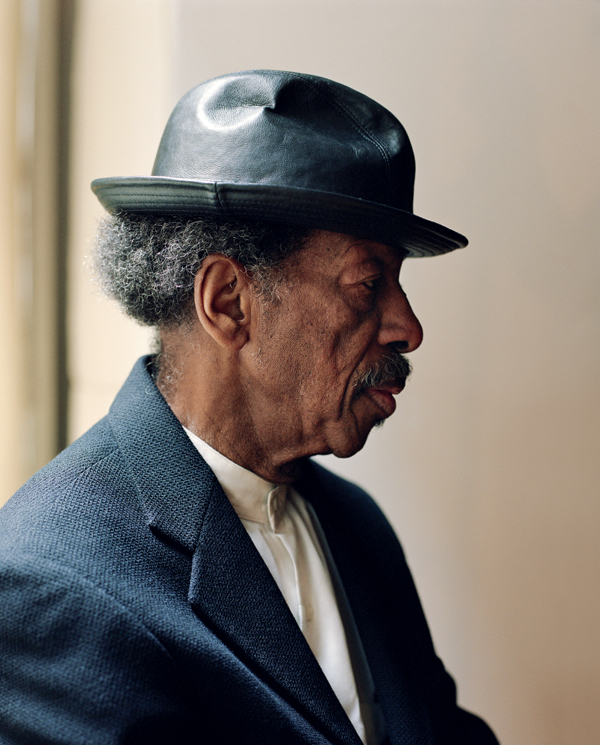 Ornette Coleman photographed by Mark Mahaney