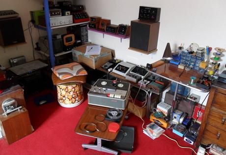 Ian Helliwell's studio, Helli-studio