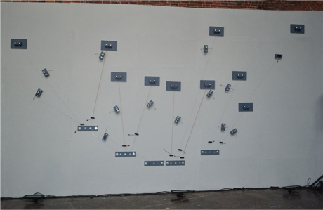 Eli Keszler - Cold Pin installation 3