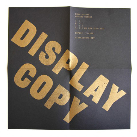 display copy news