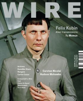 Felix Kubin on the cover of the June 2010 issue of the Wire (ripped from thewire.co.uk)