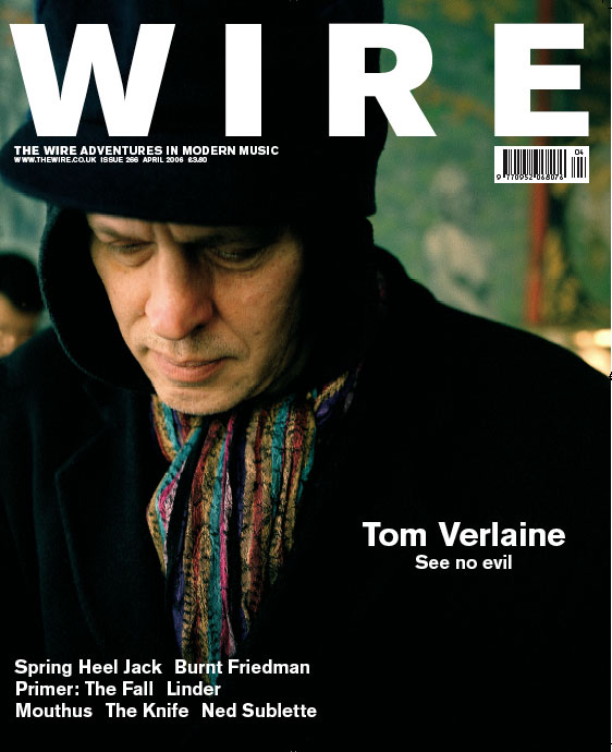 Tom Verlaine - Cover
