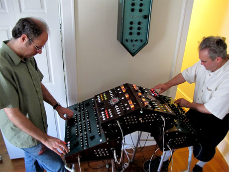 Leon and Brian Dewan Playing the Dual Primate Console