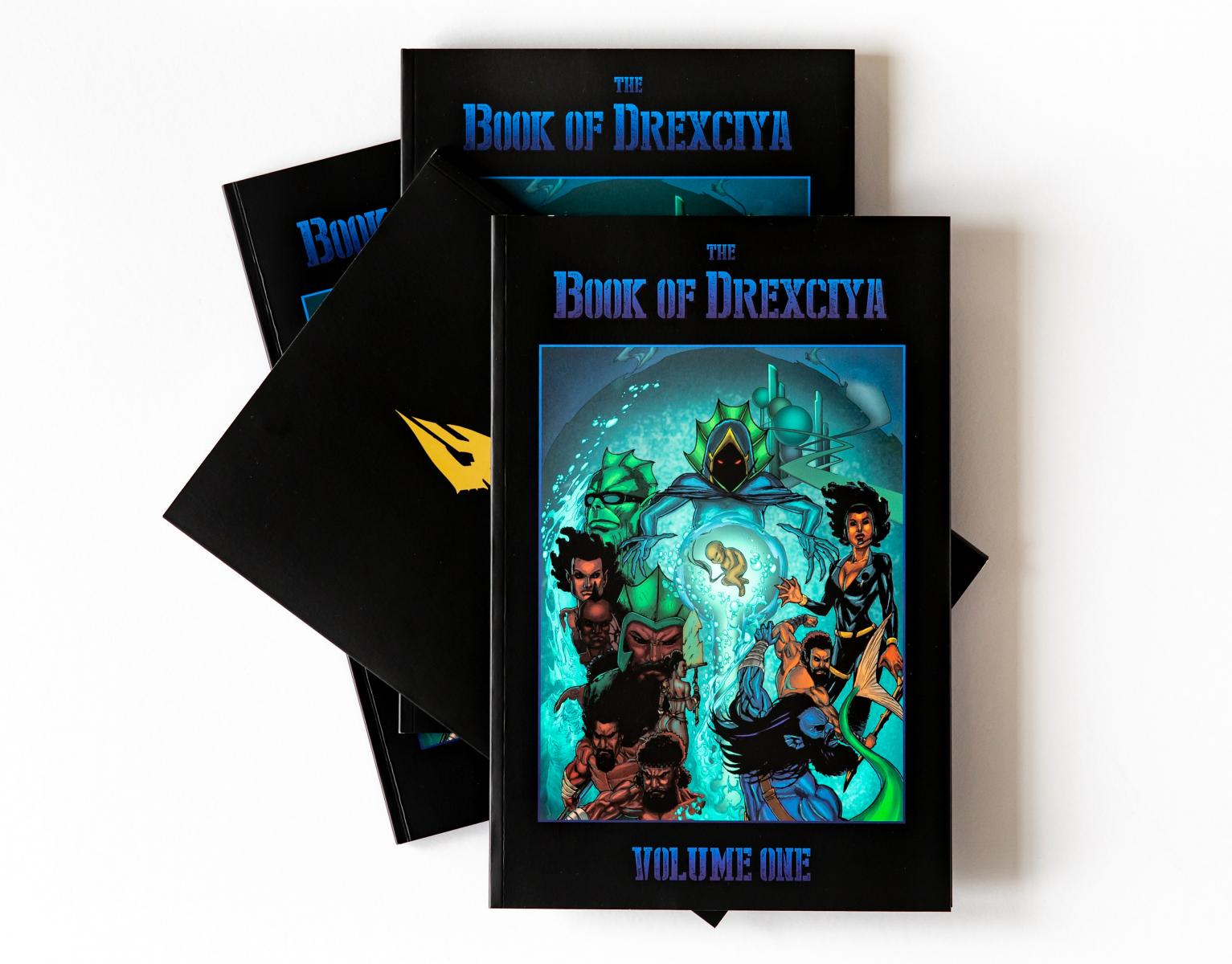 the book of drexciya vol 1 published