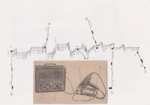 Gallery: graphic scores by Anton Lukoszevieze
