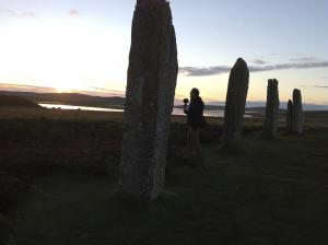 David+Hendy+recording+at+the+Ring+of+Brodgar+stone+circle+in+Orkney%2C+Scotland