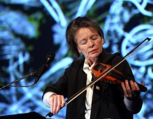 The ever elusive Laurie Anderson speaks to Emily Bick