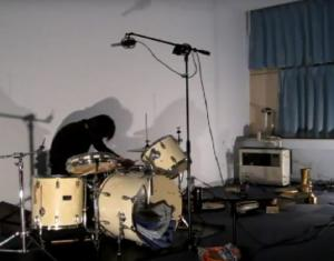 Watch a solo drum performance by Ikuro Takahashi