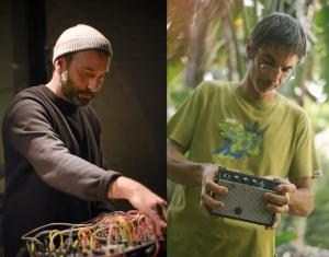 Listen to new releases by Nicola Ratti and Rafael Toral