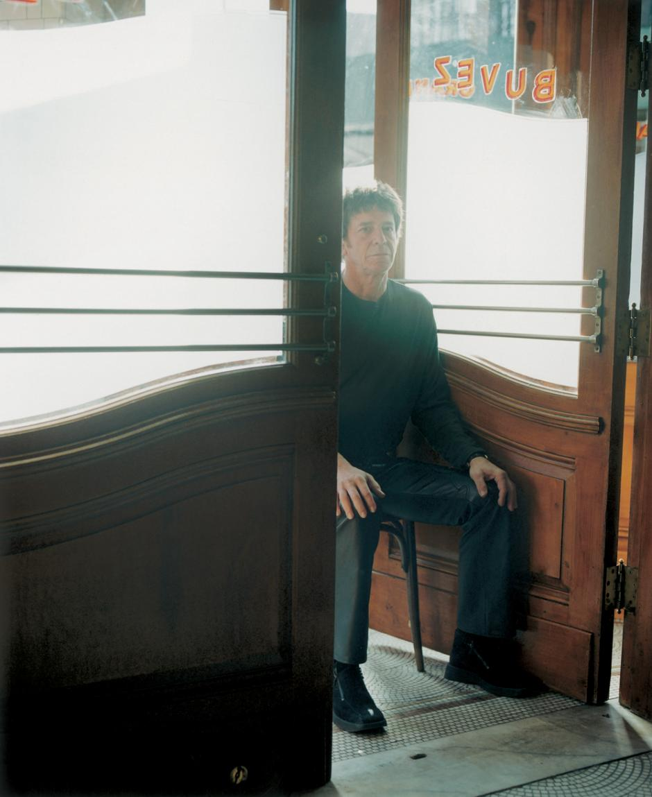 Lou Reed, New York City, January 2003. Photo by Chris Buck