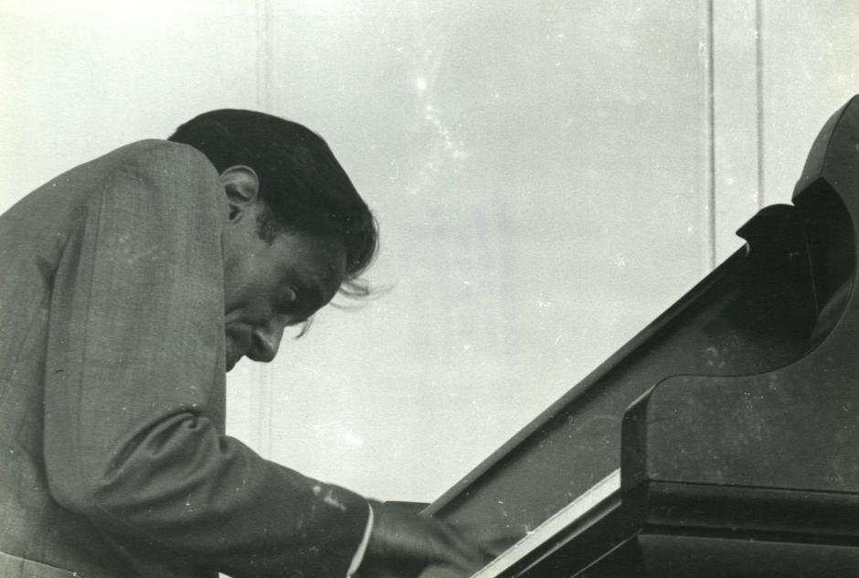 Horace Silver performing. Photo: Bill Smith