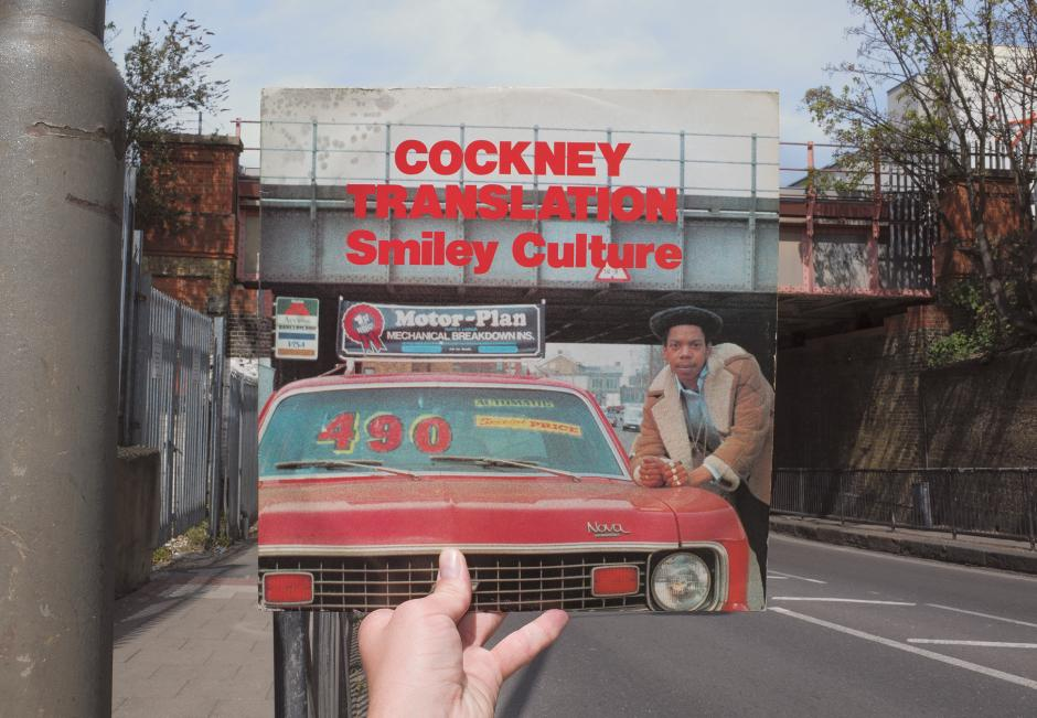 covers retracing reggae record sleeves in london