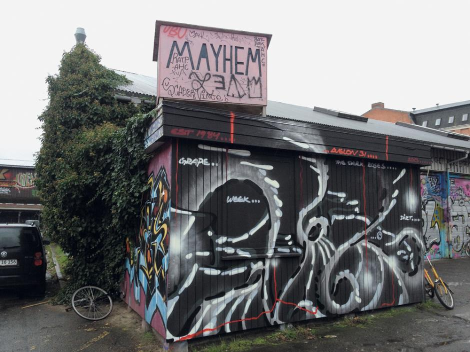 Mayhem venue front
