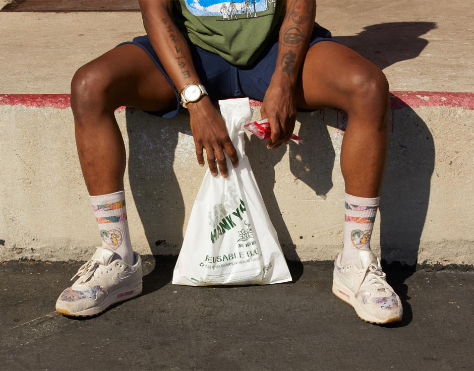 Give up the goods: shopping with JPEGMAFIA (see page 42 of The Wire 418). Photo by Michael Schmelling