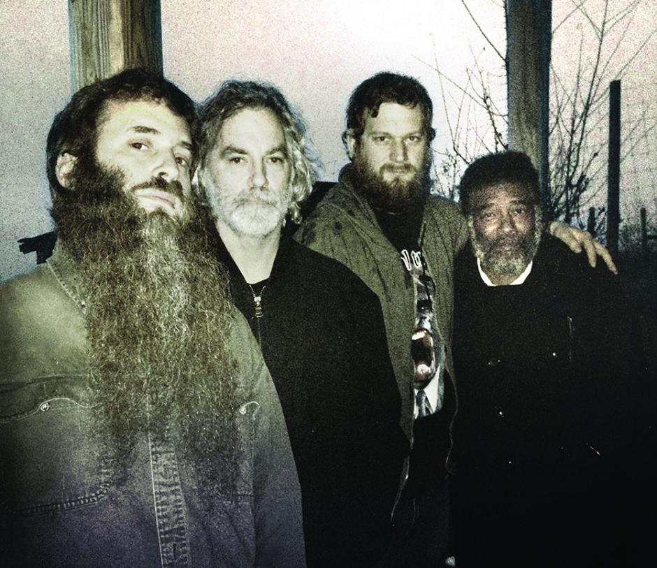 Jamie Saft, Joe Morris, Balazs Pandi and Wadada Leo Smith. Photo: Max Fertner