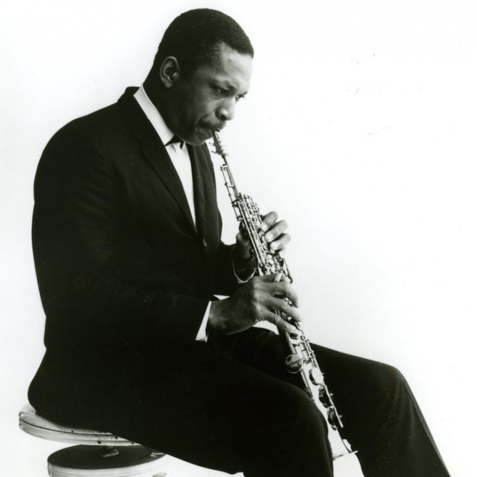 John Coltrane photographed by Charles Stewart