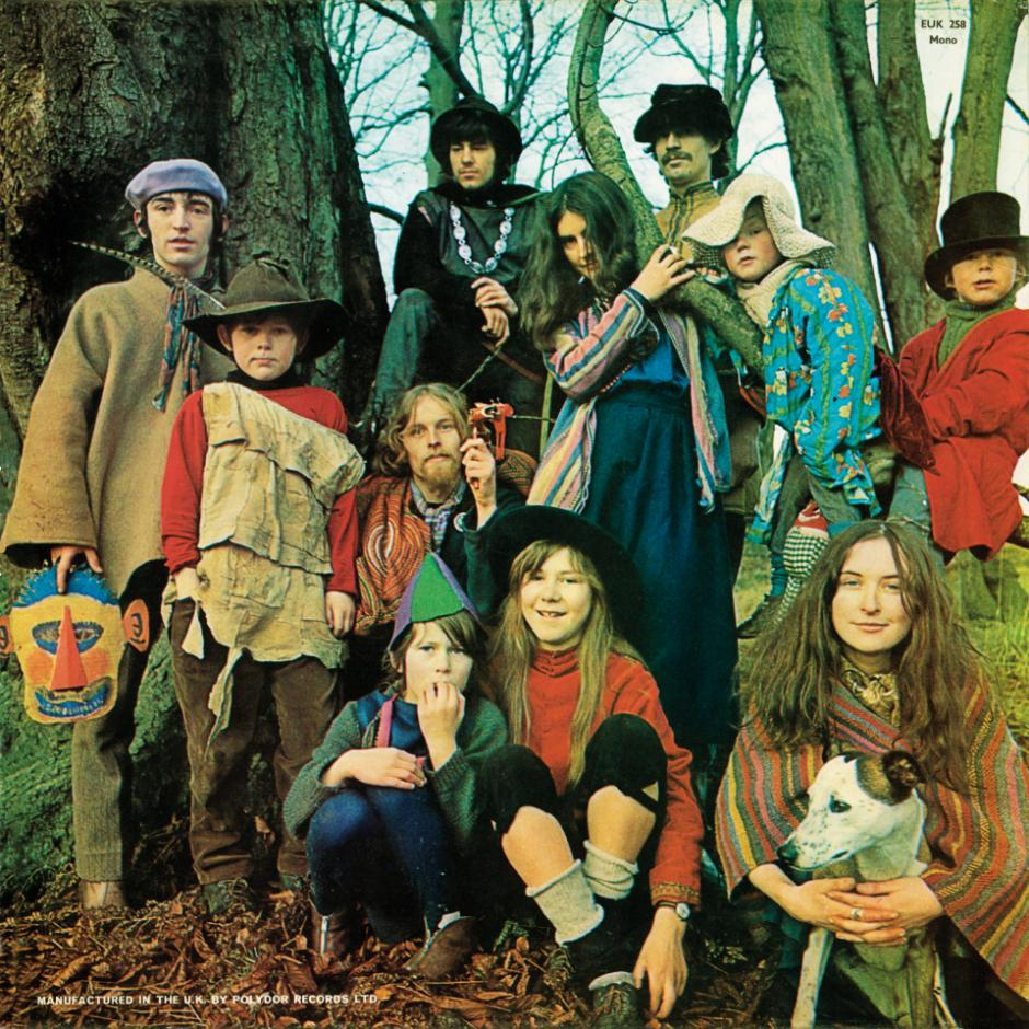 Cover of The Incredible String Band's The Hangman's Beautiful Daughter