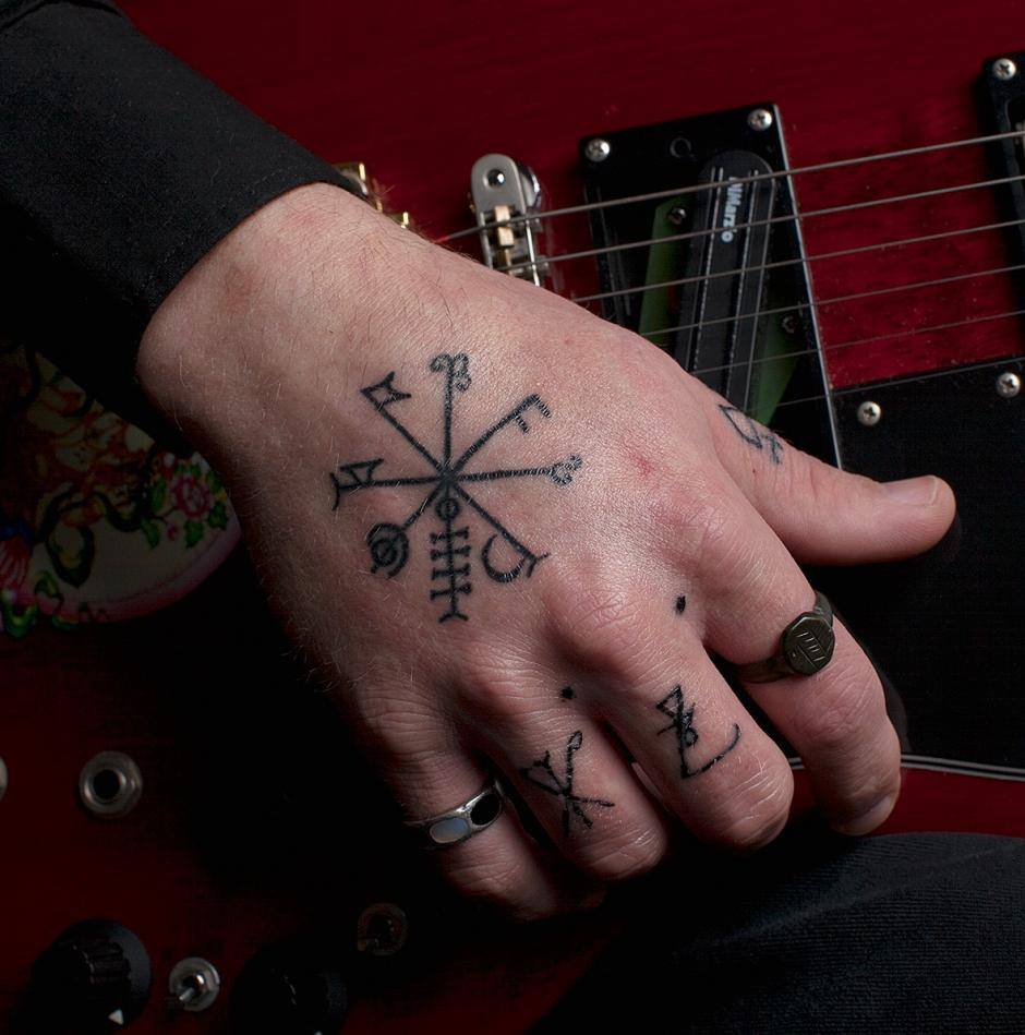 Dylan Carlson's tattoo - Jason Fulford