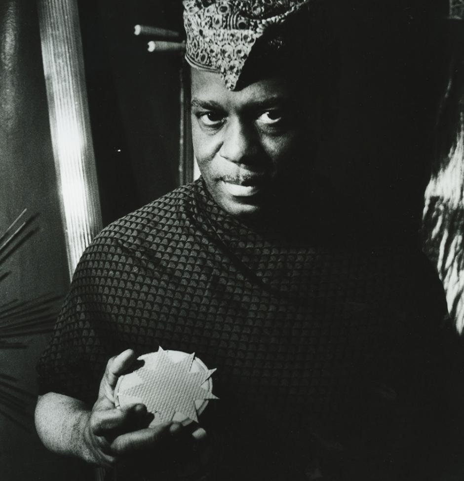 Sun Ra, New York, 1966. Photo: Val Wilmer