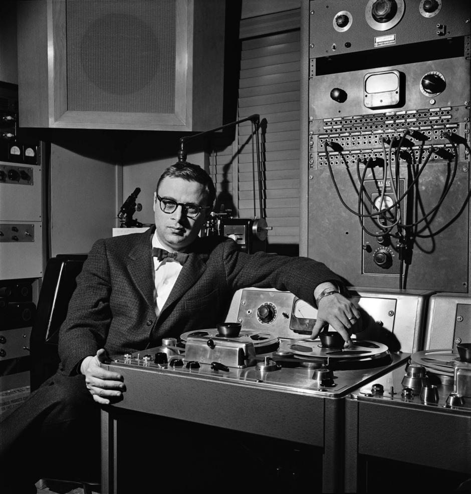 Rudy Van Gelder courtesy of Blue Note Records
